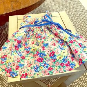 Cotton colorful summer dress. American Living 6 mo